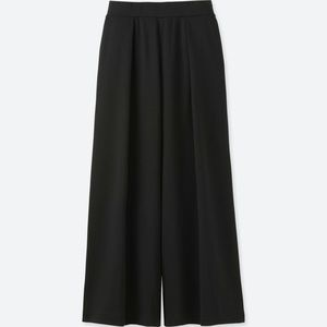 Uniqlo Pinstripe Wide Leg Pants